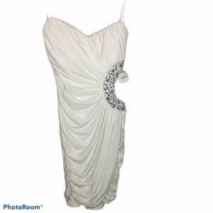 Fredericks Of Hollywood Strapless Cutout Dress Sm